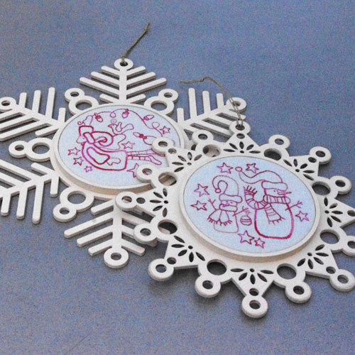 Christmas Snowflake Stitcheries