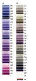 Embroidery Floss By Cosmo Lecien Corporation - Purple, Gray and Black Colorways | Red Thread Studio