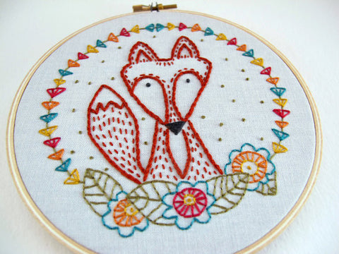 Crafty Fox Embroidery - PDF Download