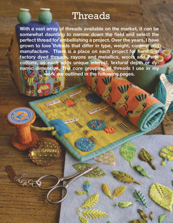Creative Stitching By Sue Spargo Second Edition Red
