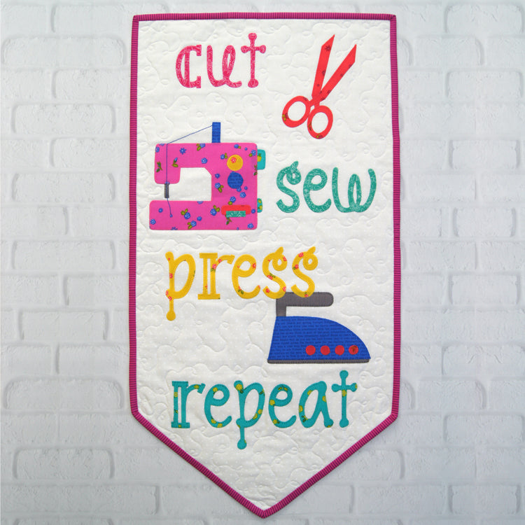Cut, Sew, Press, Repeat Quick Cut Kit by Tied With a Ribbon