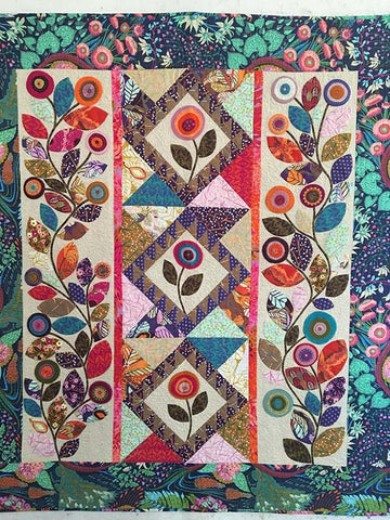 Don't Leaf Me Quilt Pattern by Wendy Williams