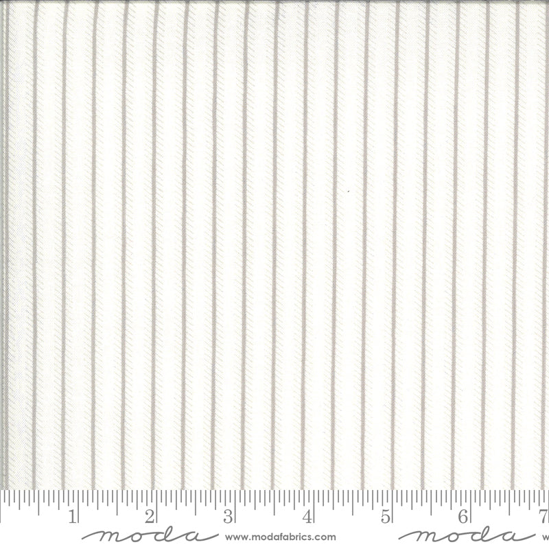 Dover designed by Brenda Riddle for Moda Fabrics - 18705 11 Ticking Stripe in Grey