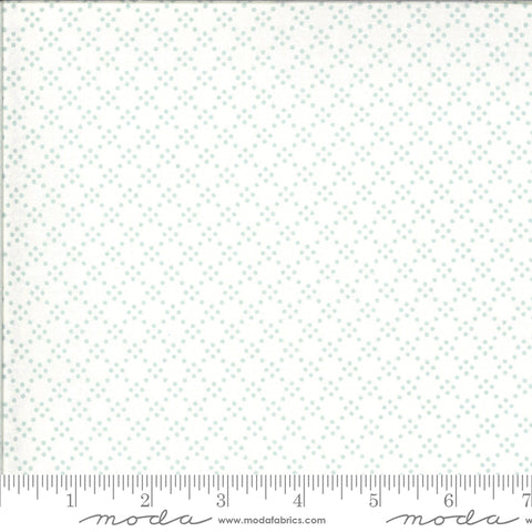 Dover designed by Brenda Riddle for Moda Fabrics - 18704 14 Tonal Dot in Sea Glass