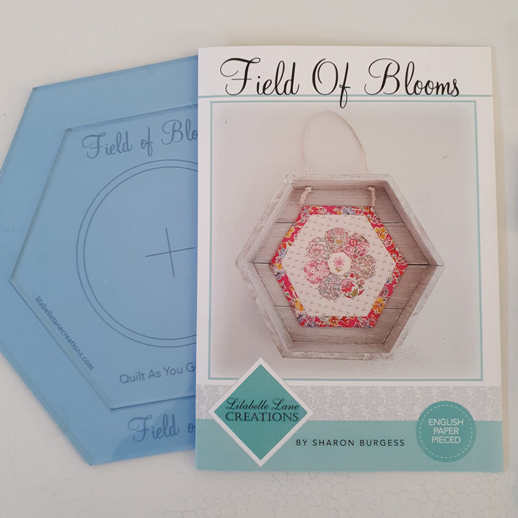 Field of Blooms - Quilt As You Go - by Lilabelle Lane Creations