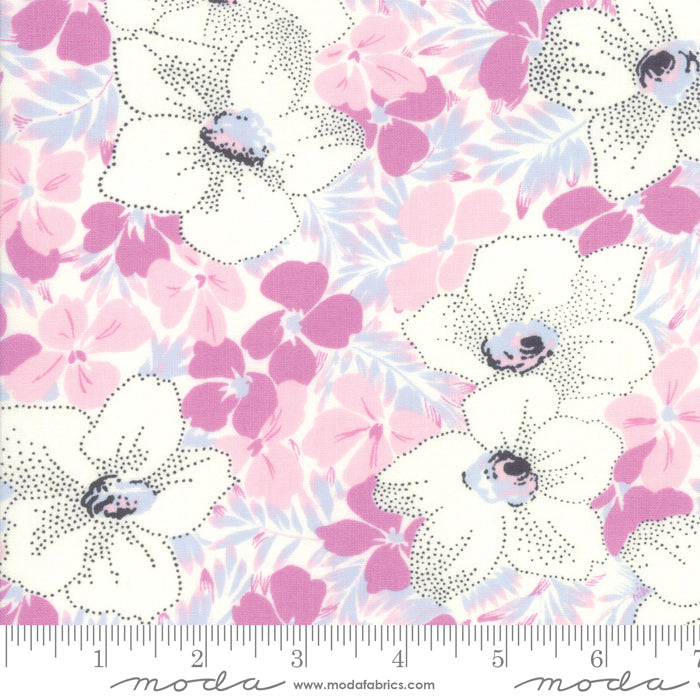 Fine and Sunny by Jen Kingwell for Moda Fabrics - Alstroe Blueberry Crush 18170 11