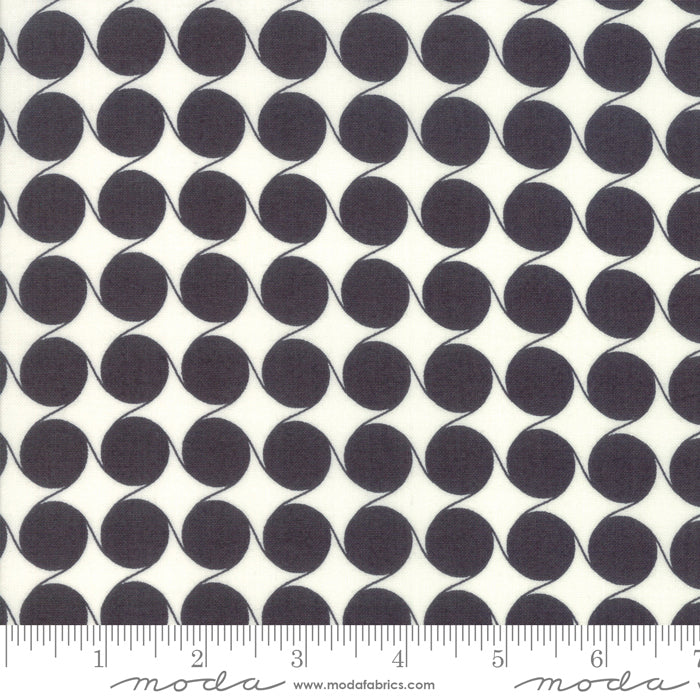 Fine and Sunny by Jen Kingwell for Moda Fabrics - Maypole Charcoal 18175 22