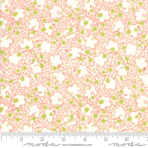 Fine and Sunny by Jen Kingwell for Moda Fabrics - Jasmine Persimmon 18173 15