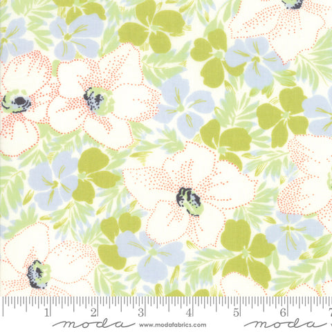 Fine and Sunny by Jen Kingwell for Moda Fabrics - Alstroe Pistachio 18170 12