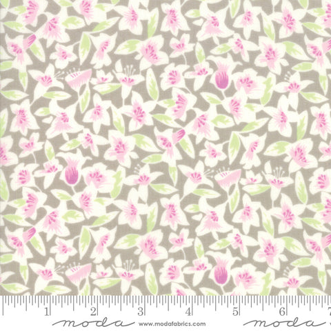 Fine and Sunny by Jen Kingwell for Moda Fabrics - Blossom Silver 18171 17