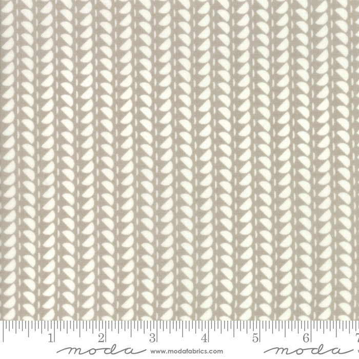 Fine and Sunny by Jen Kingwell for Moda Fabrics - Spidewinder Stone 18176 25