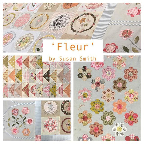 Fleur Quilt Pattern by Susan Smith for Patchwork on Stonleigh