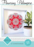 Flowering Palampre wall hanging pattern by Lilabelle Lane Creations