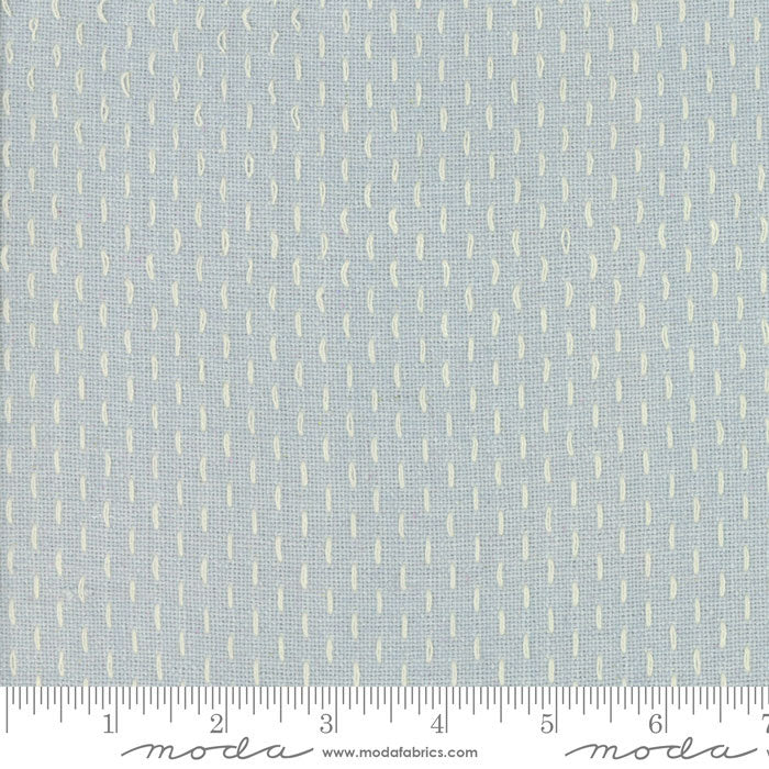 French Sashiko by French General - 12562 13 Blue Dust