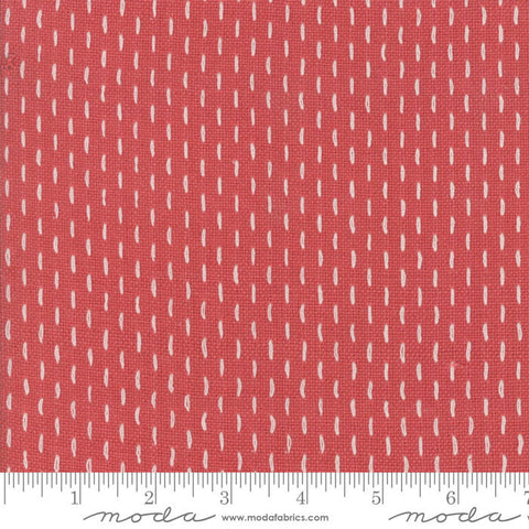 French Sashiko by French General - 12562 12 Faded Red