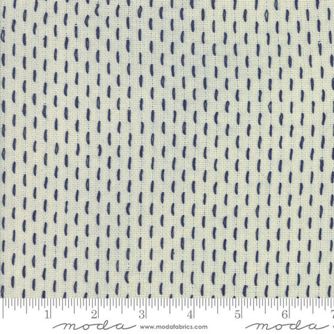 French Sashiko by French General - 12562 18 Pearl Indigo