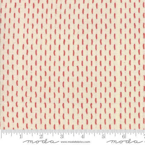 French Sashiko by French General - 12562 15 Pearl Red
