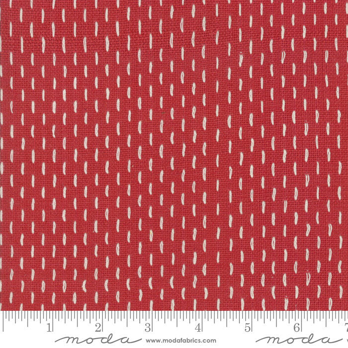 French Sashiko by French General - 12562 11 Rouge