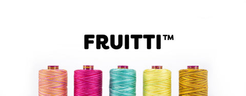 Fruitti 12 wt Cotton Thread by Wonderfil