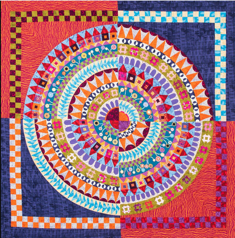 Full Circle Quilt Pattern by Wendy Williams
