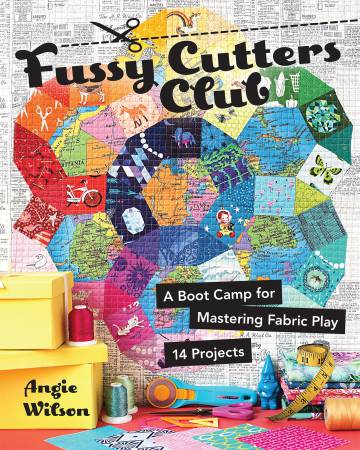 Fussy Cutters Club by Angie Wilson of Gnome Angel