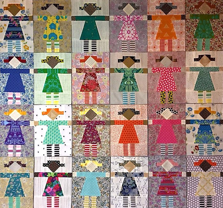 Girl Next Door Quilt-Along Monthly Fabric Kits Sold Out -5404