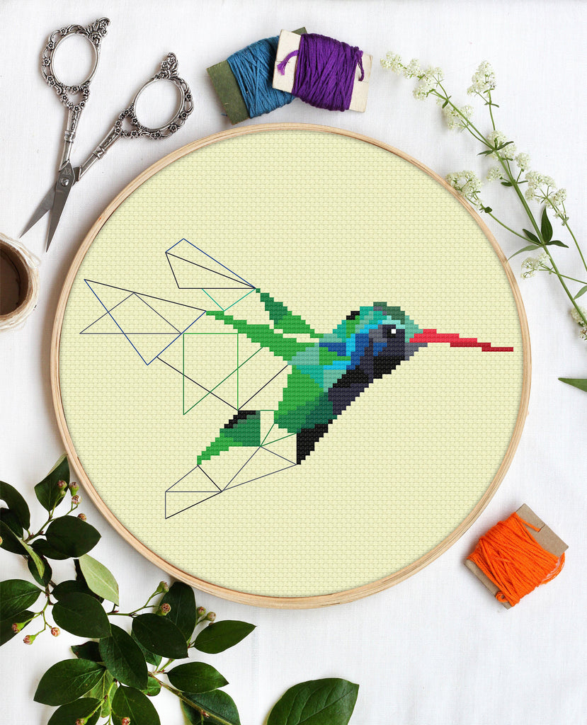 Green Hummingbird by Galaborn - PDF Download