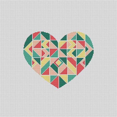 Geometric Heart- PDF Download