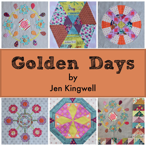 Golden Days - Template of the Month Program by Jen Kingwell- Starts September 2018!
