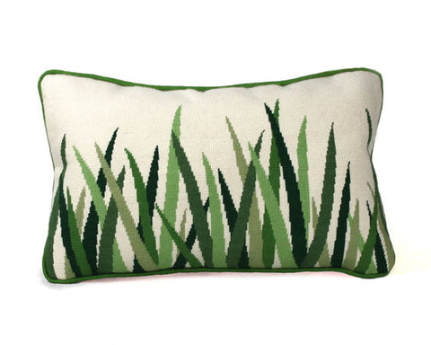 Green Grasses - Needlepoint - PDF Download