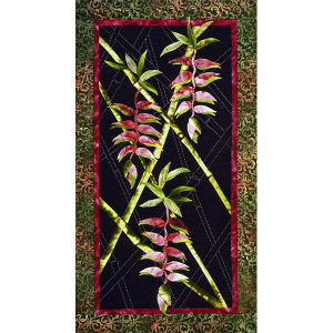 Heliconia Wall Quilt