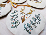 Holiday Ornaments Embroidery - PDF Download