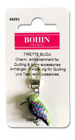 Decorative Charms - Hummingbird - by Bohin