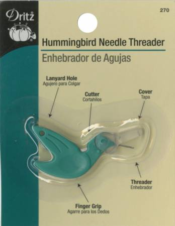 Hummingbird Needle Threader by Dritz **On Backorder - Arriving late April - Reserve Yours Now!**