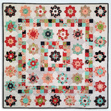 Josie's Garden Quilt Pattern and Paper Piece Kit by Lilabelle Lane Creations