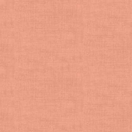 Linen Texture by Andover Fabrics - Coral Pink