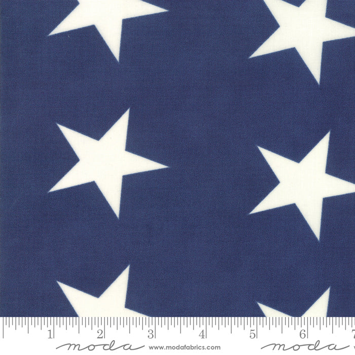 Mackinac Island - Navy - 14889 15 by Minick & Simpson for Moda Fabrics