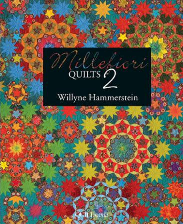 Millefiori Quilts 2 by Willyne Hammerstein, English Paper Piercing | Red Thread Studio
