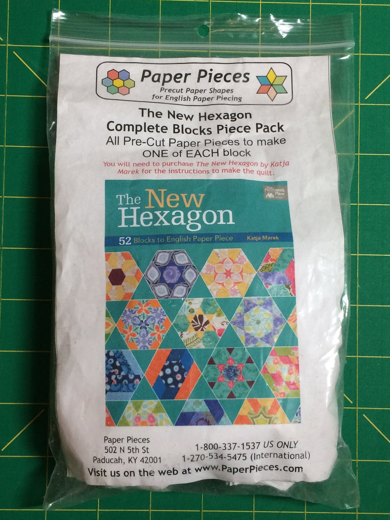 The New Hexagon - The Complete Paper Piece Pack