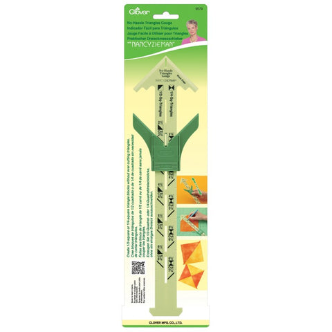 No Hassle Triangles Gauge with Nancy Zieman by Clover