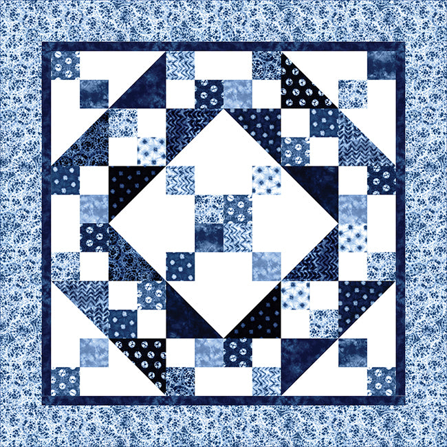 Nuno quilt pattern by Calico Carriage Quilt Designs
