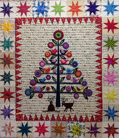 Oh Christmas Tree Pattern By Wendy Williams Red Thread Studio