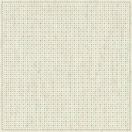 Sashiko Cloth One Stitch - KF2020-18 Grid 1 - by QH Textiles