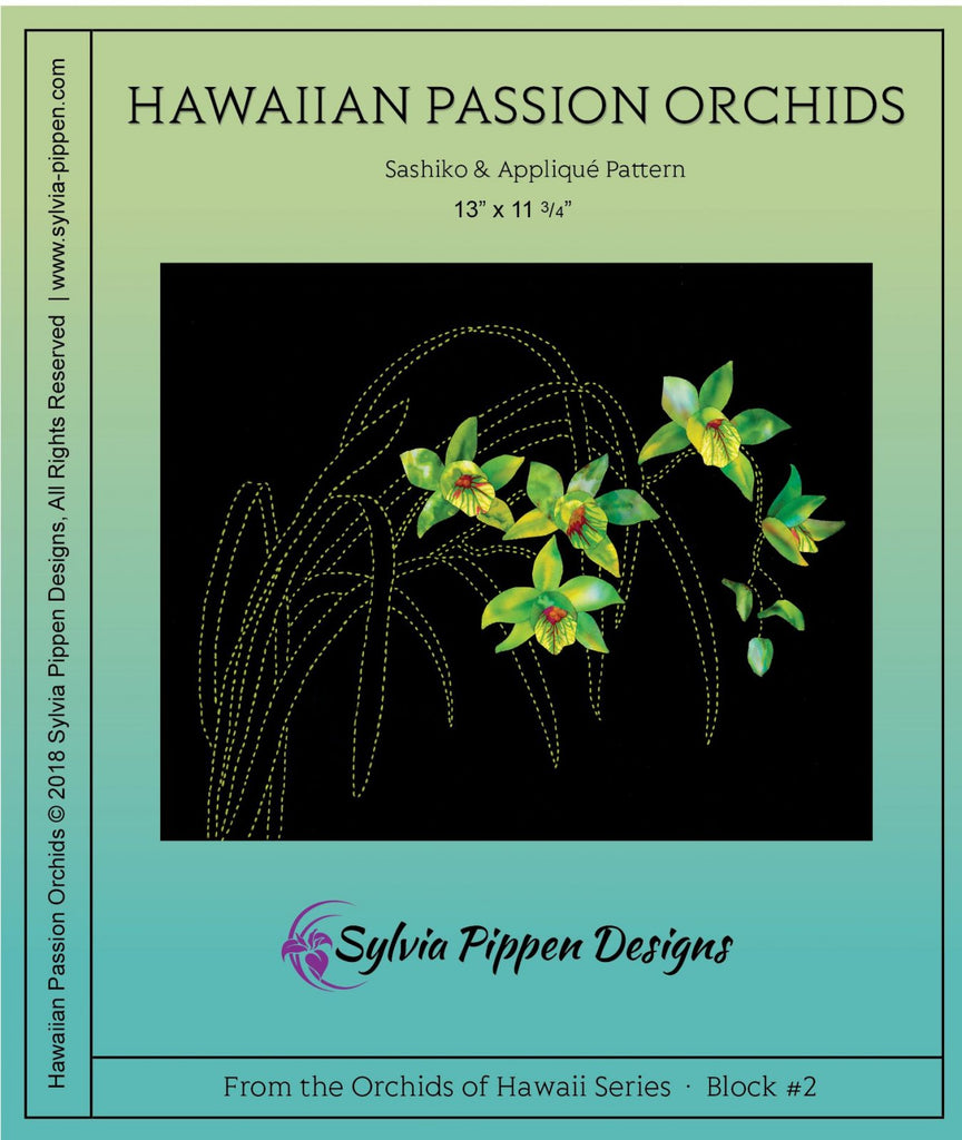 Orchids of Hawaii Series by Sylvia Pippen Designs - Hawaiian Passion Orchids