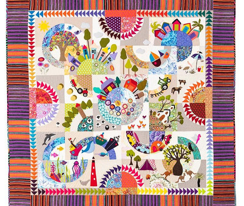 Over the Hill quilt pattern by Wendy Williams