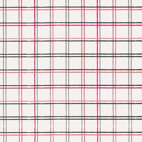 Playing Pop Collection - Plaid Beat Sparkling by Art Gallery Fabrics - POP 1285