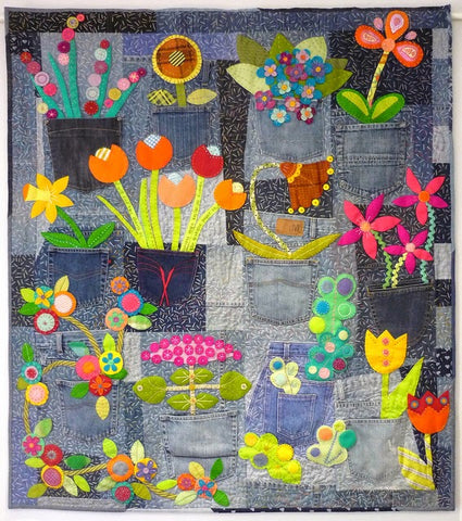 Pockets Full of Posies 2 Day Workshop with Rachaeldaisy - Wednesday, April 1st - Thursday, April 2nd 2020 **CANCELLED**