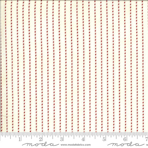 Redwork Gatherings by Primitive Gatherings for Moda Fabrics - 49111 11