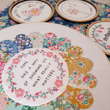Remember the Little Things - pre-printed linen included by Lilabelle Lane