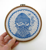Sea Captain Embroidery - PDF Download